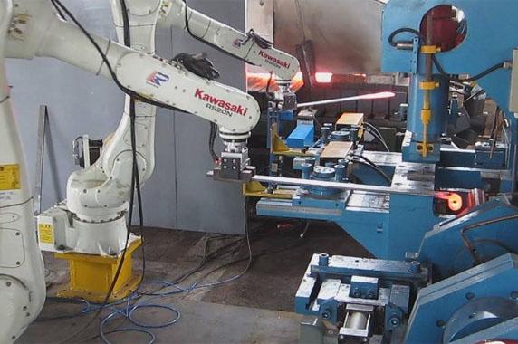 六轴冲压机器人特点和优势高清图片